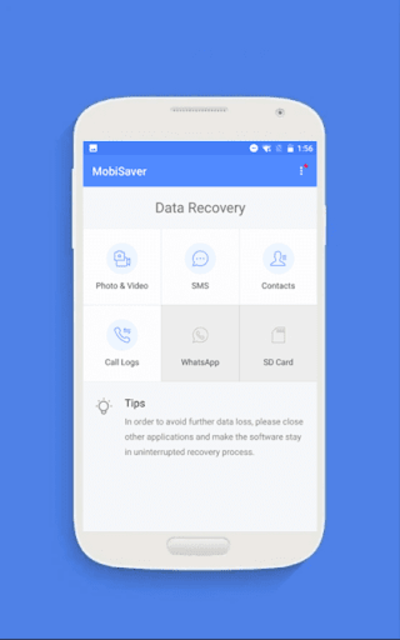 EaseUS MobiSaver - Recover Video, Photo & Contacts screenshot 2