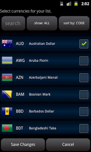 Easy Currency Converter Pro screenshot 3