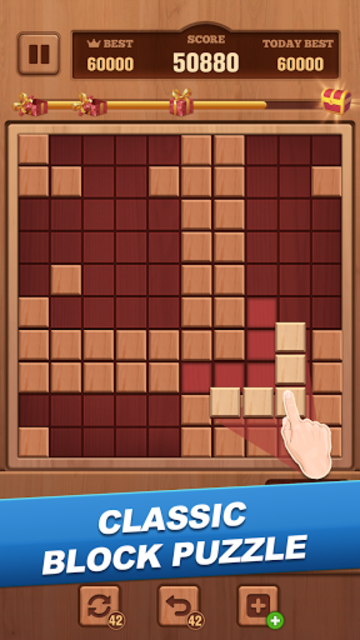 Woody Block - Classic Puzzle screenshot 2