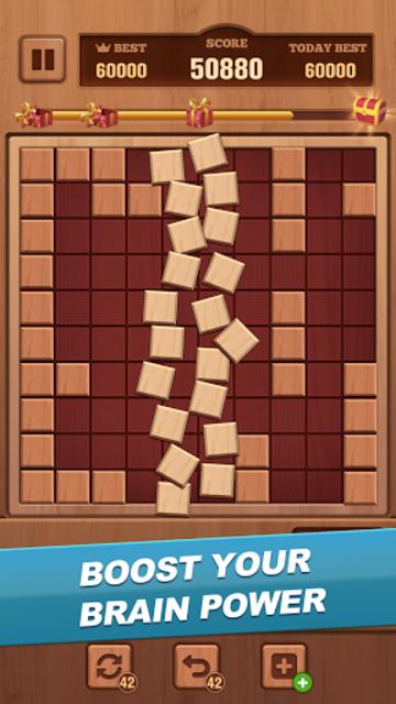 Woody Block - Classic Puzzle screenshot 5