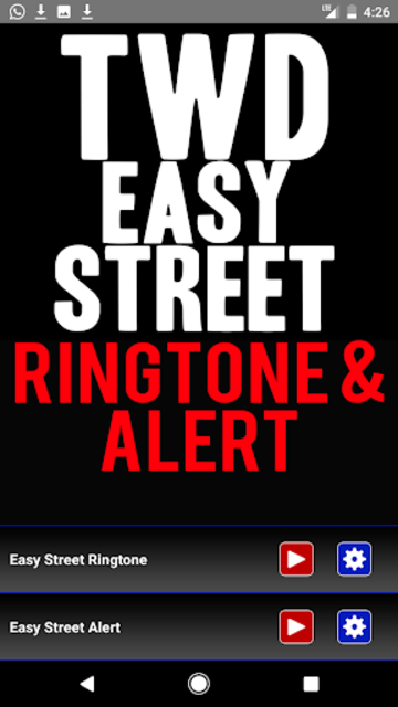 Easy Street Ringtone screenshot 4