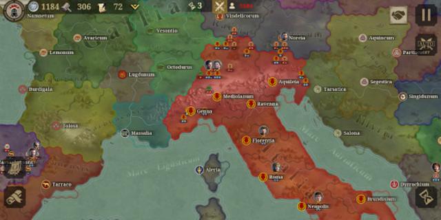 Great Conqueror:Rome screenshot 1