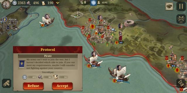 Great Conqueror:Rome screenshot 2