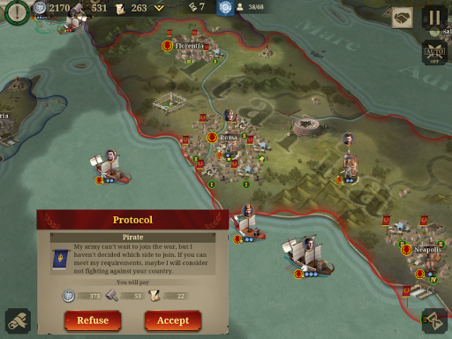 Great Conqueror:Rome screenshot 10