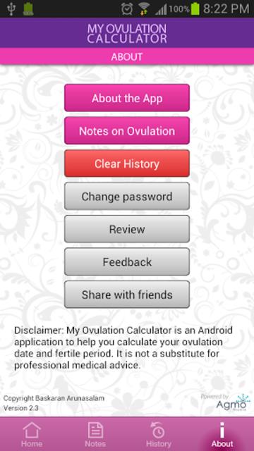 My Ovulation Calculator screenshot 7