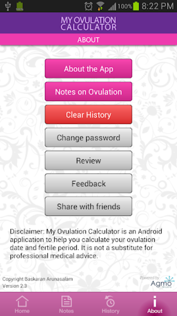 My Ovulation Calculator screenshot 7