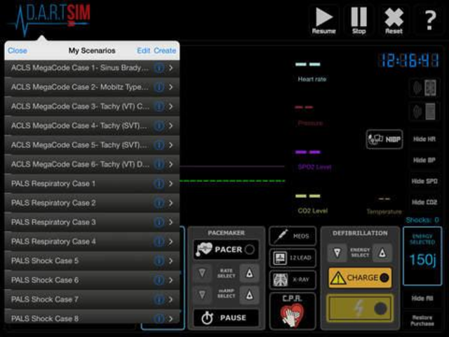 DART SIM screenshot 2