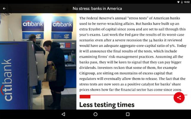 The Economist Espresso. Daily News screenshot 11