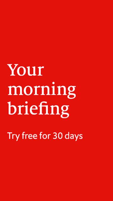 The Economist Espresso. Daily News screenshot 1