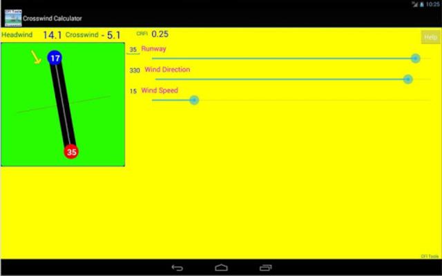 CFI Tools Crosswind Calculator screenshot 3