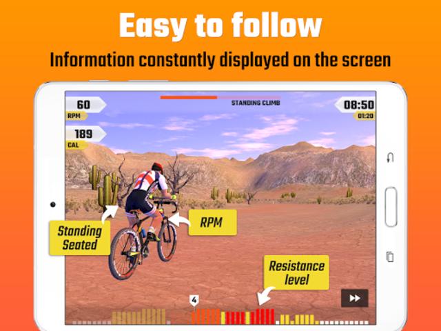 CycleGo - Indoor Cycling Workouts screenshot 19