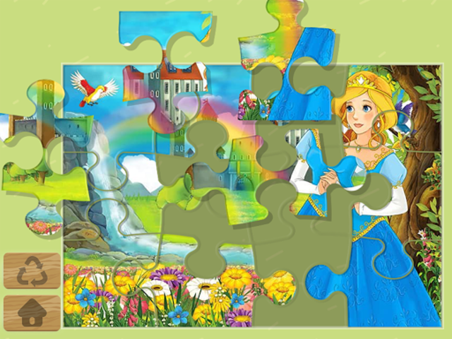 Princess Puzzles and Painting screenshot 1
