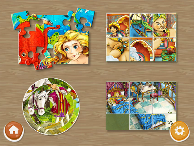 Princess Puzzles and Painting screenshot 2