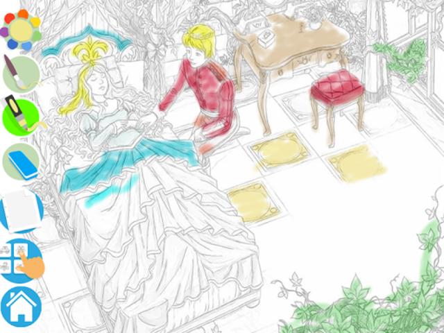 Princess Puzzles and Painting screenshot 3