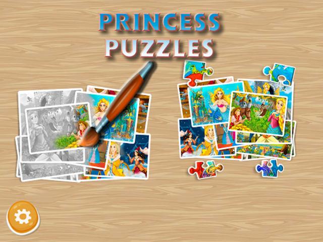 Princess Puzzles and Painting screenshot 4