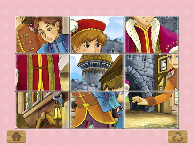 Princess Puzzles and Painting screenshot 5