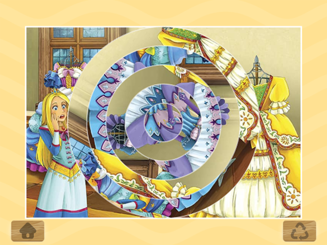 Princess Puzzles and Painting screenshot 6