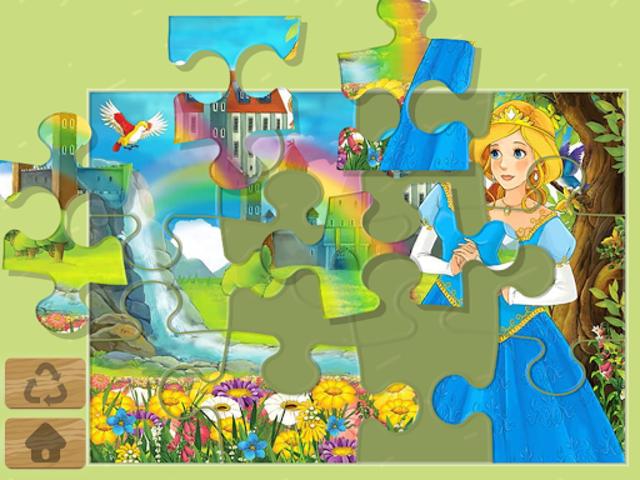 Princess Puzzles and Painting screenshot 9