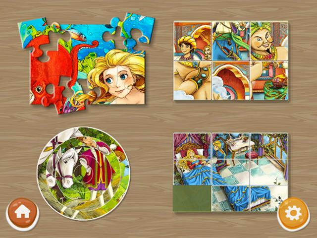 Princess Puzzles and Painting screenshot 11