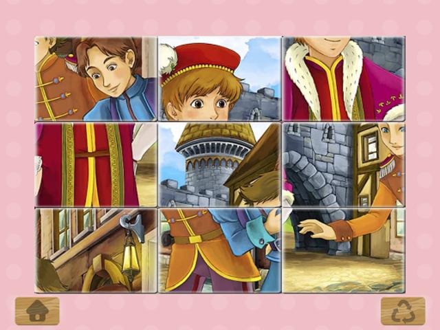 Princess Puzzles and Painting screenshot 13