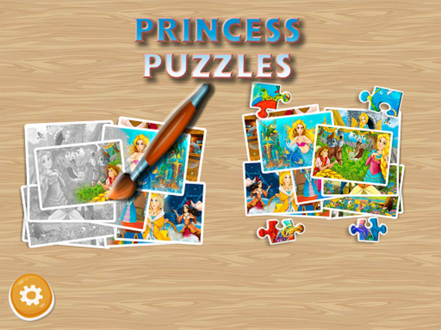 Princess Puzzles and Painting screenshot 14