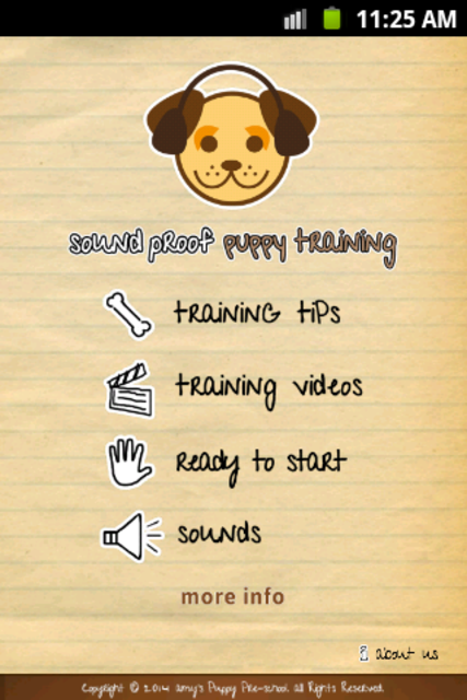 Sound Proof Puppy Training screenshot 1