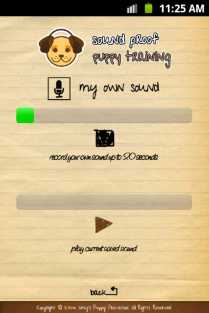 Sound Proof Puppy Training screenshot 5