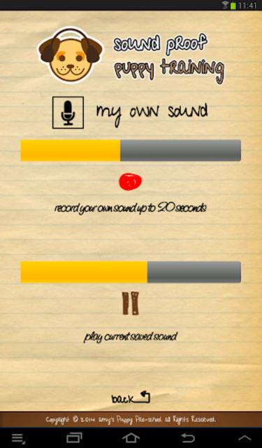 Sound Proof Puppy Training screenshot 15