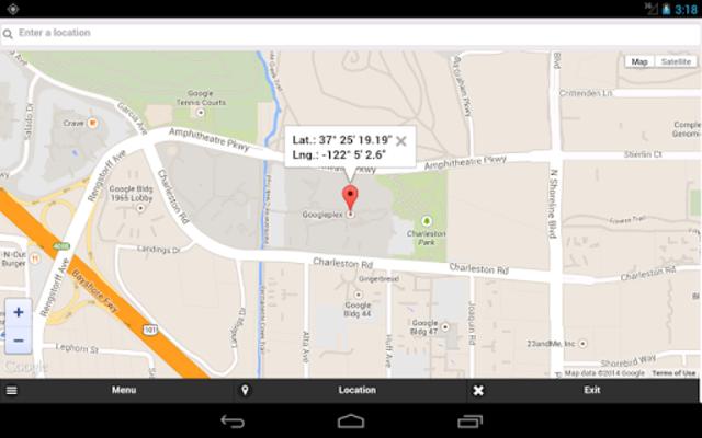 GPS Coordinates Finder screenshot 2