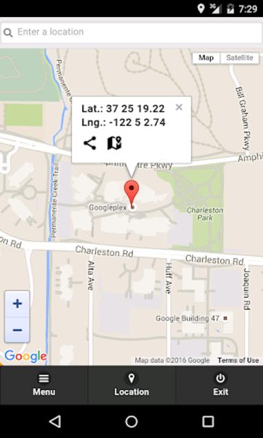 GPS Coordinates Finder Pro screenshot 1