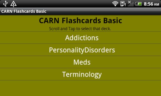 CARN Flashcards Basic screenshot 4