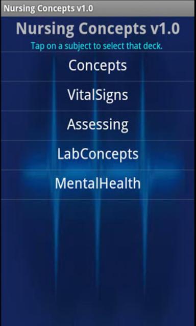 Nursing Concepts screenshot 1