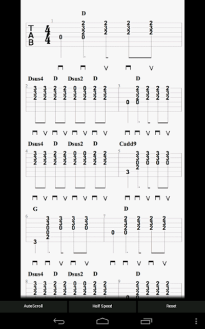 E-Guitar (Phone & Tablet) screenshot 14