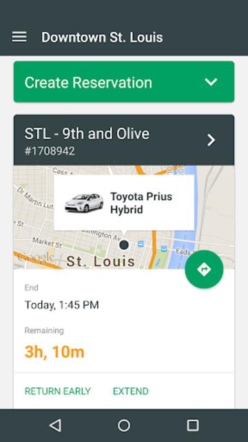 Enterprise CarShare screenshot 1