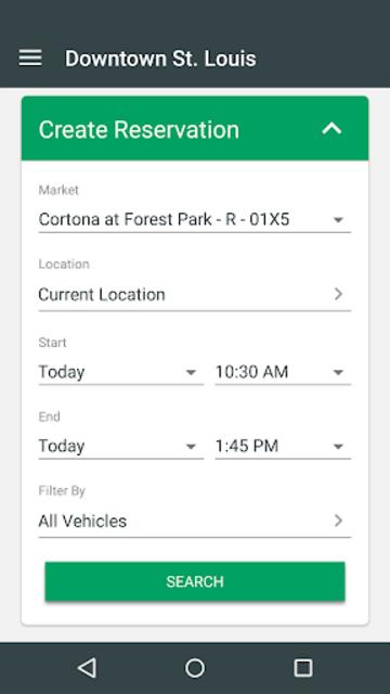 Enterprise CarShare screenshot 2