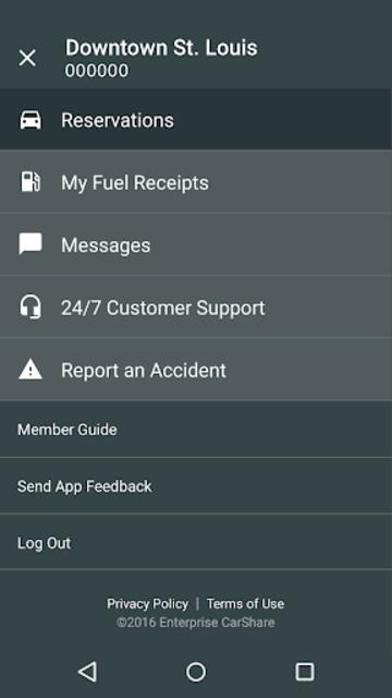 Enterprise CarShare screenshot 5