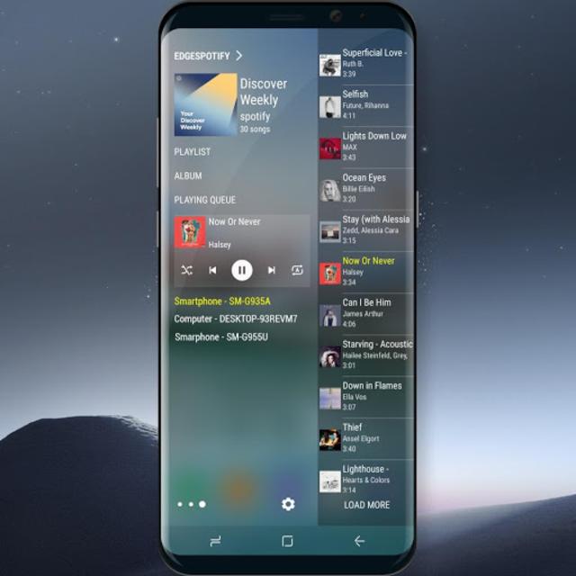 Edge Panel for Spotify Music screenshot 1