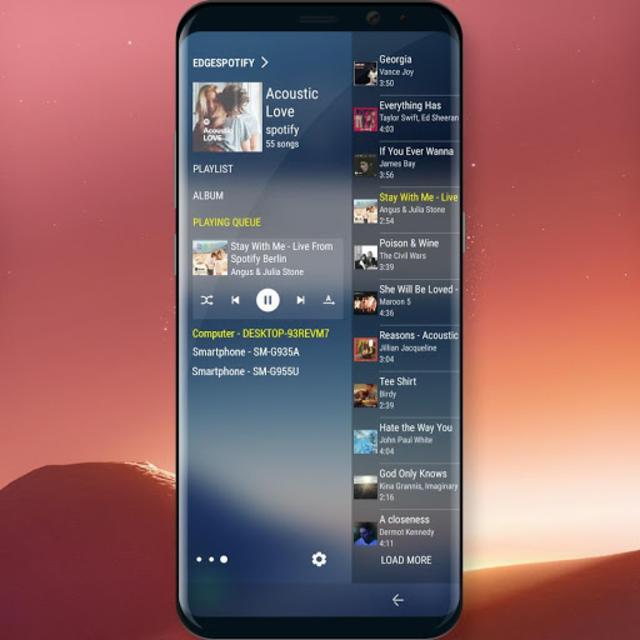 Edge Panel for Spotify Music screenshot 2