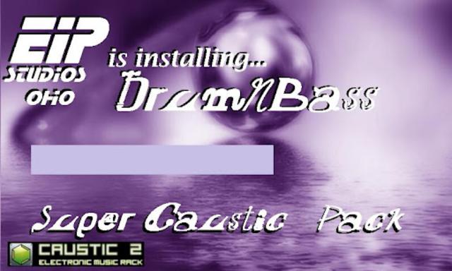 Caustic 3 DrumNBass screenshot 2