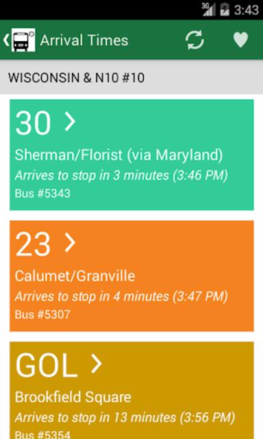 MCTS Tracker screenshot 1
