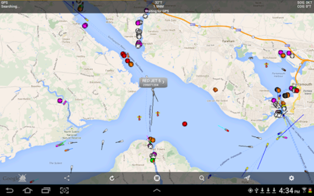 Boat Beacon - AIS Navigation screenshot 9