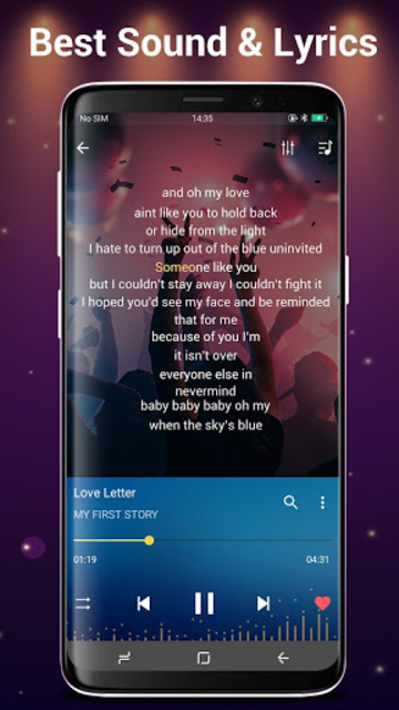 Music Player for Android screenshot 22