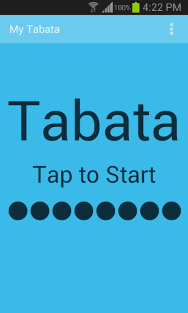 My Tabata Timer Paid screenshot 1