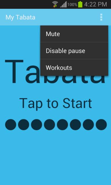 My Tabata Timer Paid screenshot 5