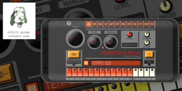 EGDR 808 - Drum Machine screenshot 1
