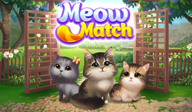 Meow Match: Cats Matching 3 Puzzle & Ball Blast screenshot 17