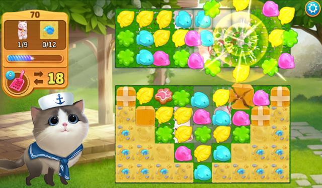 Meow Match: Cats Matching 3 Puzzle & Ball Blast screenshot 18