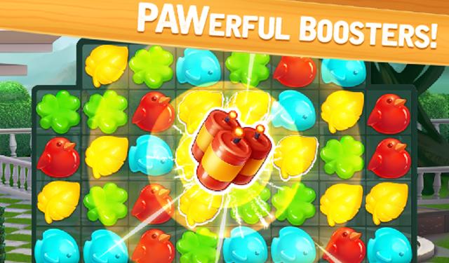 Meow Match: Cats Matching 3 Puzzle & Ball Blast screenshot 16