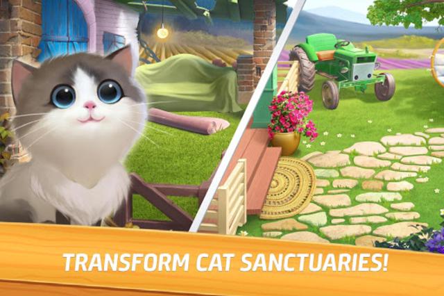 Meow Match: Cats Matching 3 Puzzle & Ball Blast screenshot 2