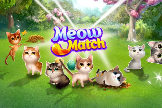 Meow Match: Cats Matching 3 Puzzle & Ball Blast screenshot 3